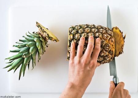 Ananas Nasıl Seçilir ve Nasıl Dilimlenir?