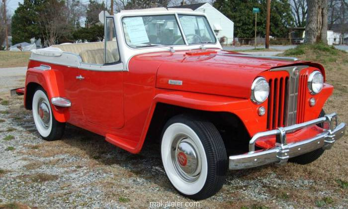 Willys-Overland Jeepster Cabrio Coupe