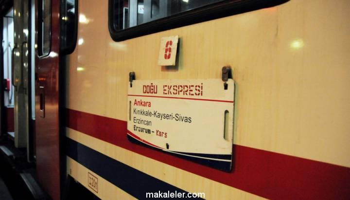 Bir günlük yolculuk: Doğu Ekspresi