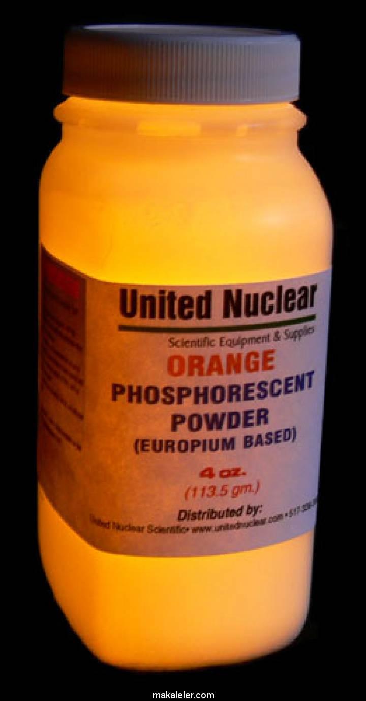 Fosforesans Lantanit Evropiyum Nedir?