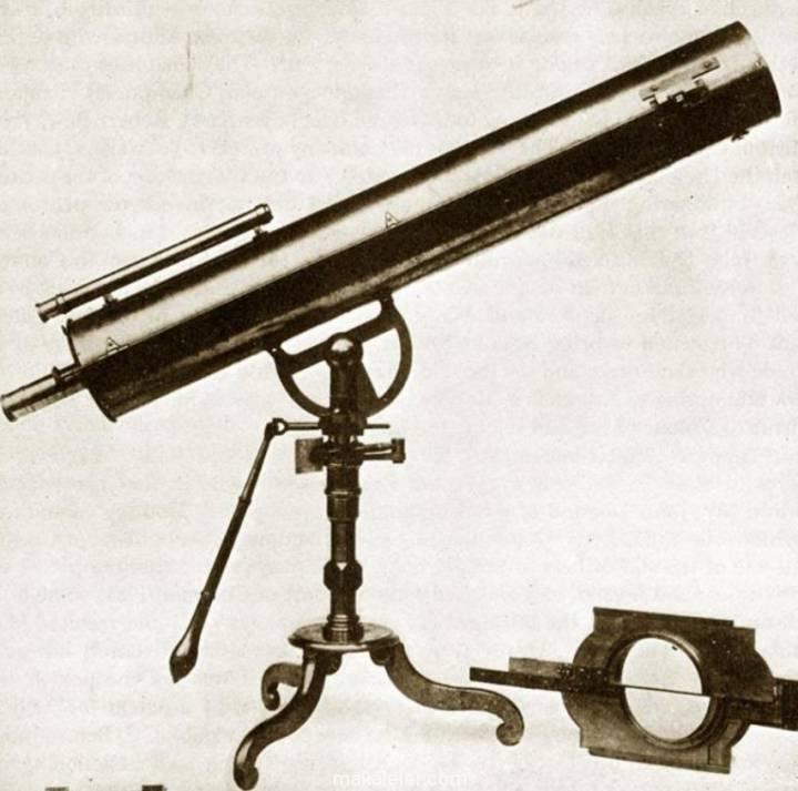 Gregoryan Teleskopu? İlk Pratik Reflektör