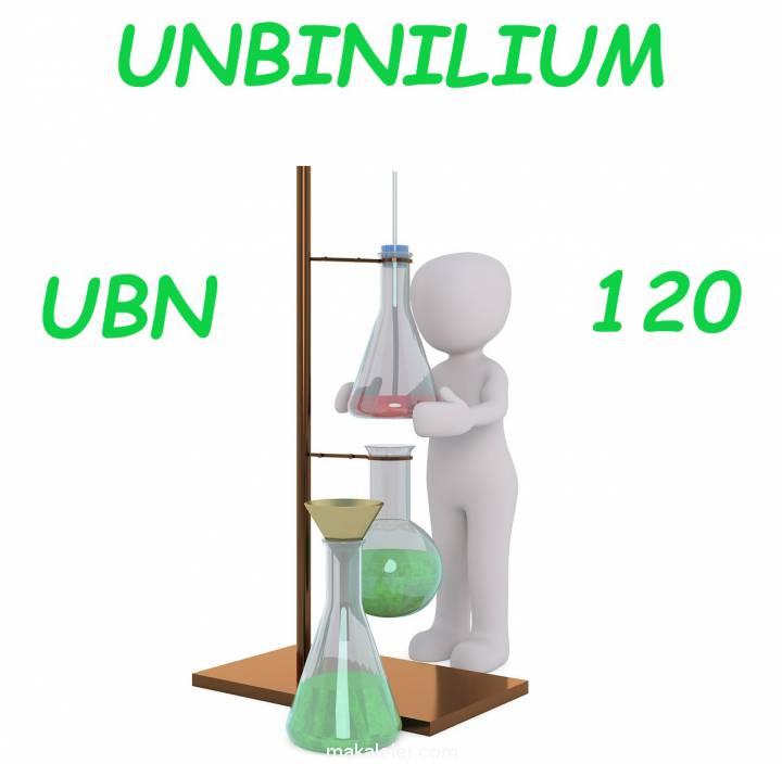 Keşfedilemeyen Element Unbinilyum Nedir?