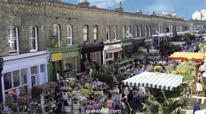 Londra'nın En Popüler 7 Pazarı