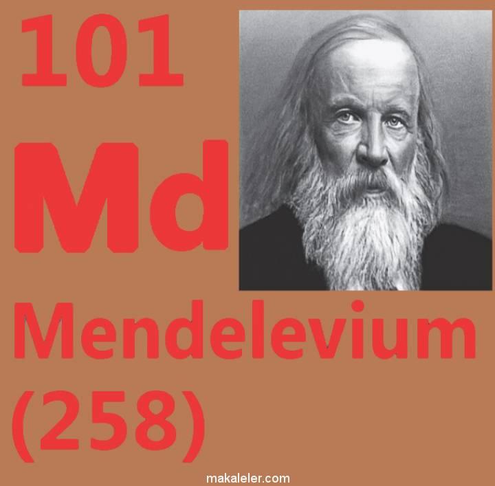 Mendelevyum Nedir? (Özellikleri, İzotopları)