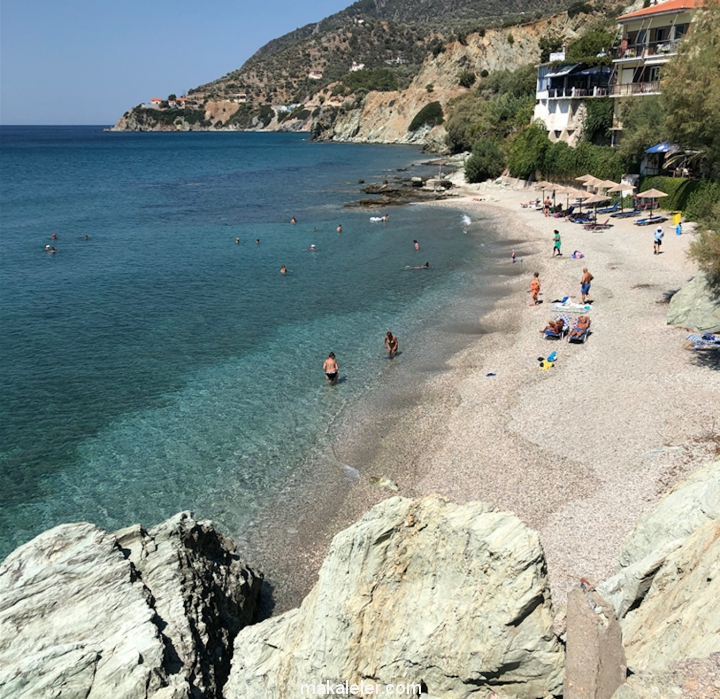 Midilli Adası (Lesvos) En İyi Plajları