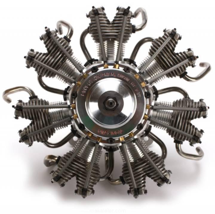 Radyal (Yıldız Tipi) Motor Nedir, Nasıl Çalışır?