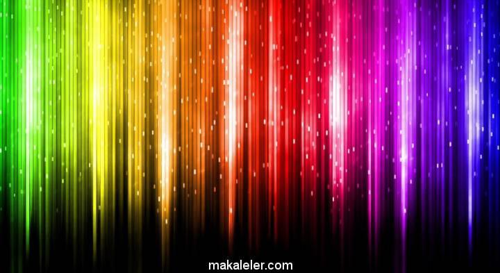 Renkler ve Anlamları (Renklerin Psikolojik Etkileri)