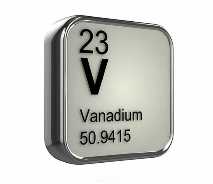 Vanadyum Nedir? (Özellikleri, Kullanımı)